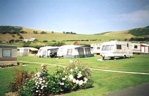 Ocean View Caravan Park, Aberystwyth,Ceredigion,Wales