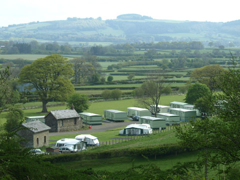 The Old Station Caravan Park, New Radnor,Powys,Wales