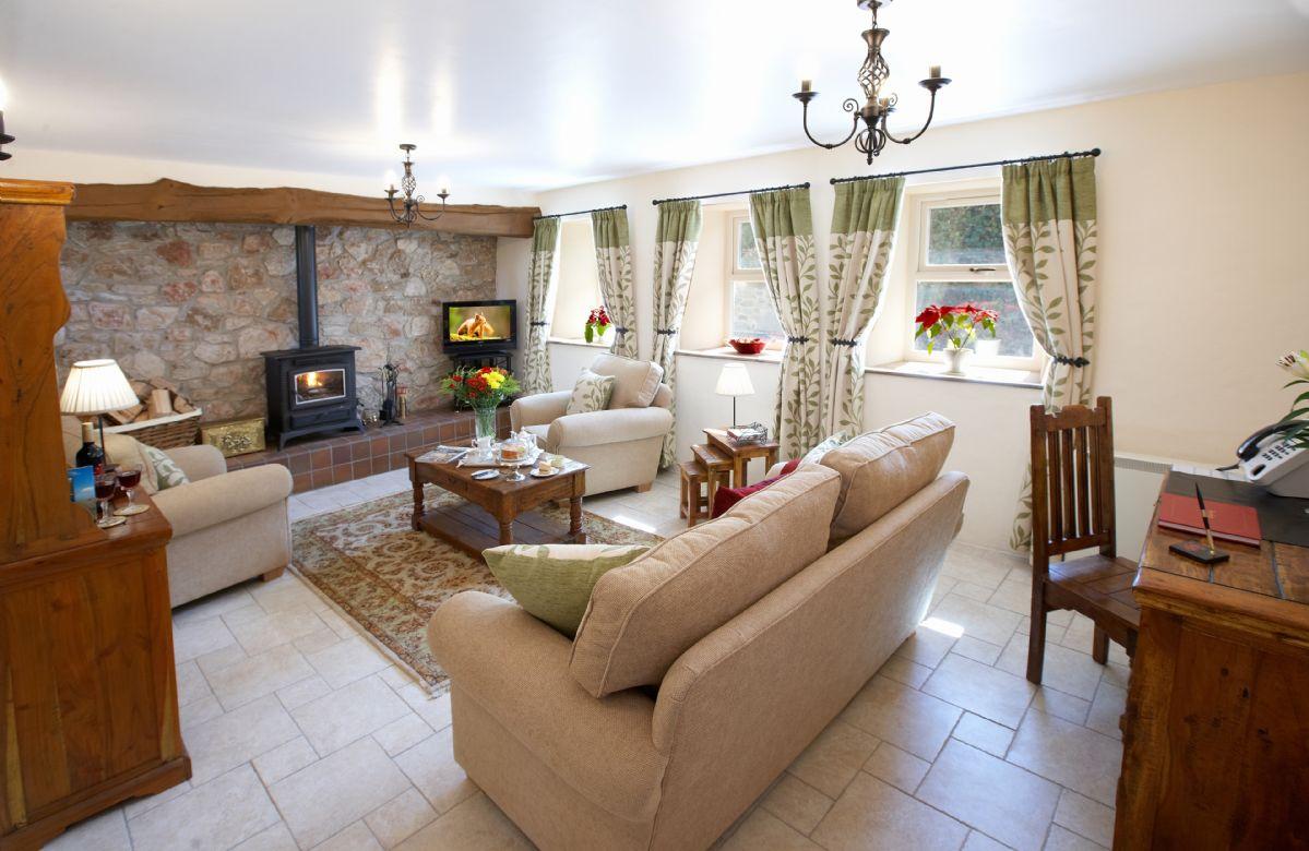 Garreg Wen is located in Eglwys Bach