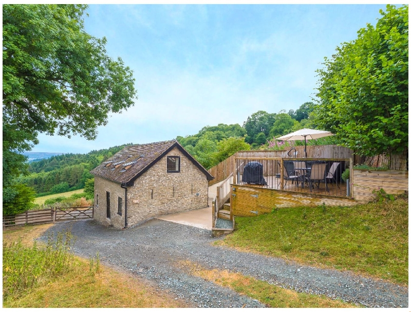 Click here for more about Bishop's Castle Barn