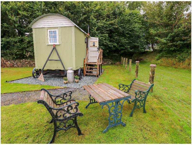 Click here for more about Shepherds Hut - The Crook
